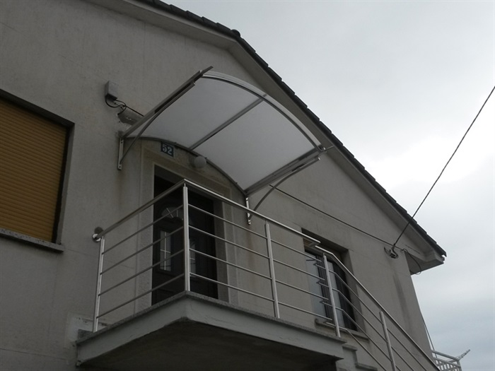 Inox nadstrešnice
