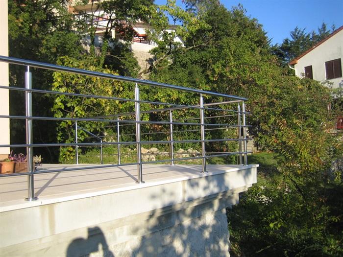 Vanjske inox ograde Mesingal
